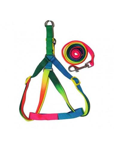 Pawzone Multi Colour Body Harness