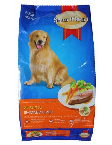 Smart Heart Adult Dog Food Smoked Liver 20 Kgs