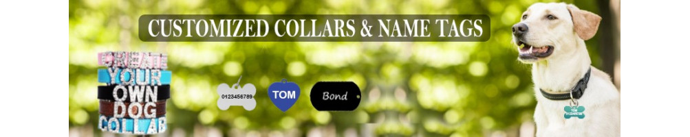 Dog Name Tags - Dog Name Collars at lowest price in India