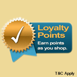 Loyalty Points on pet products