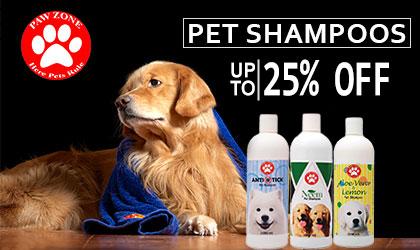 Dog Shampoos powders